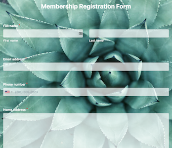Membership Registration Form